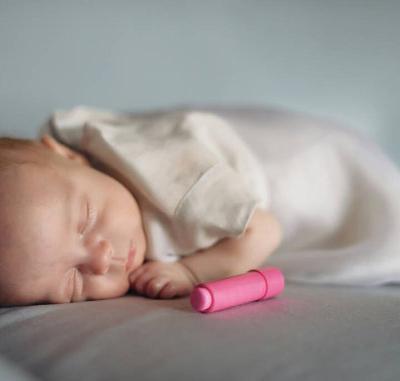 abito bimba in lino e organza di seta