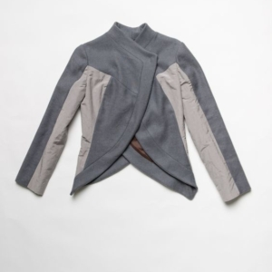 Jacket invernale in canapa e cashmere
