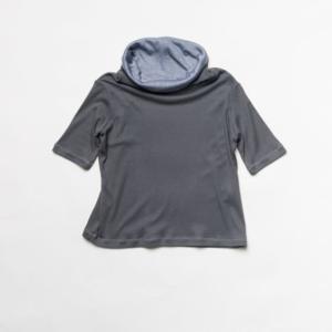 Maglietta con collo a imbuto 100 % Bambù – da 3 a 9 anni