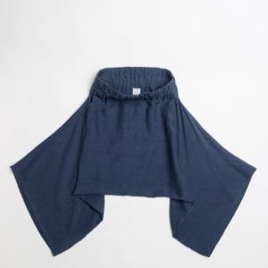 Pantalone 100% Cupro in geometria Rettangolob