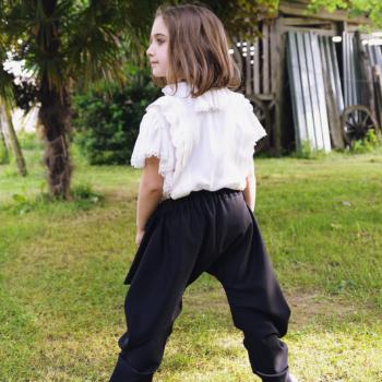Pantalone ergonomico a chiocciola in bambù