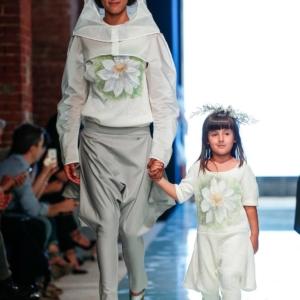 Pantalone fresco di lana grigio alluminio
